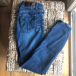 Miss Sixty made in Italy straight leg dark jeans